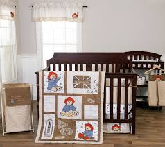 paddington bear crib bedding by trend lab