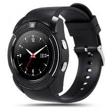 Giá bán Đồng hồ thông minh Smart Watch V8 mặt tròn có kết nối sim, thẻ nhớ
