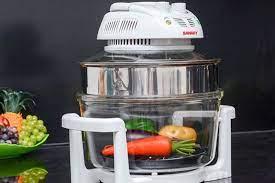 Lò nướng thủy tinh Sanaky VH 158T - 15 lít giúp chế biến thức ăn nhanh  chóng. - chodocu.com