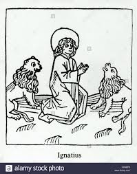 Martyrdom of s ignatius of antiochia ignatius is torn to pieces by wild animals