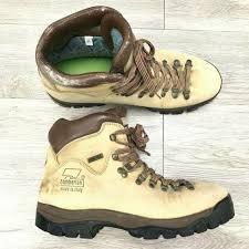 Zamberlan Mens 12 Gtx Waterproof Brown Leather Steel Toe Hiking Boots Italy