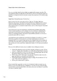 How To Make A Resume For A Highschool Student How To Write A Resume ...