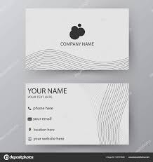 visting card format vector business card template visiting card for business and pe