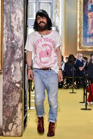 First Name Of Designer Gucci Alessandro Michele Breaks His Silence About Guccis