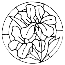 lower designs for glass painting
