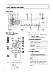 sony cdx m operating instructions cdx m page  type your new search above