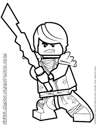 Small Picture Ninjago Cole KX With Elemental Blade Coloring Page H M