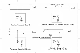 delixi instruments meter co 72c a v dc ammeter voltmeter wiring diagram