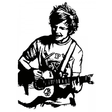 Ed Sheeran Line Art Related Keywords Suggestions Ed Sheeran Line