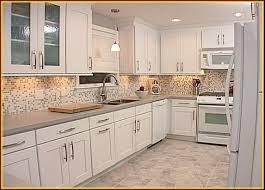 image of elegant white kitchen cabinets ideas for countertops and backsplash