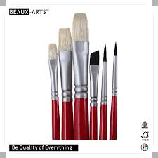 spain nationality series top hog bristle and taklon oil paint and acrylic artist paint brush set