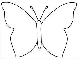 Printable Butterfly Outline 30 Butterfly Templates Printable Crafts Colouring Pages