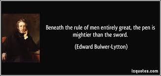 pen mightier than sword essay the pen is mightier than the sword essay