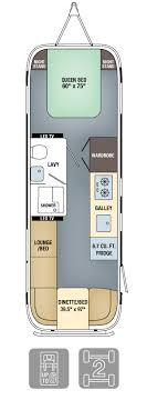 airstream floor plans. Perfect Plans Floor Plans  Land Yacht 28 Inside Airstream O