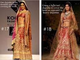 Blog Styles To Drape Dupatta On Your Wedding