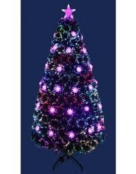 The Red & Blue Colour Burst Fibre Optic Tree