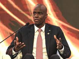 The president of Haiti has been killed