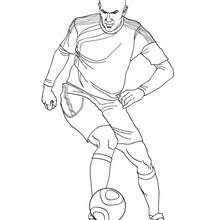 Coloring Pages Football 30 Disegno Disegni Calciatori Famosi Da Colorare Galleria Di