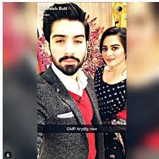 aiman khan and muneeb butt in nida yasir show first time after good morning aiman khan her fiance 16th 2017 ary digital