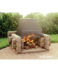 our outdoor fireplaces