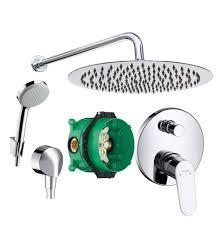 Hansgrohe Set Optimal Für Kleine Duschen Bis 90 Cm Mit