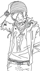 Anime Boy Coloring Pages At Getdrawingscom Free For Personal Use