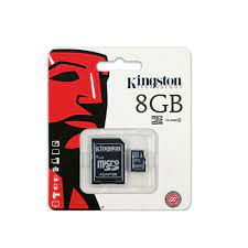 KINGSTON 8GB MICRO SDHC CLASS4 HAFIZA KARTI - Vatan Bilgisayar
