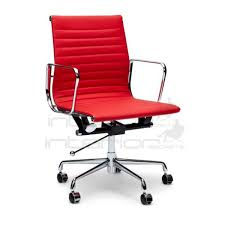 replica eames office chair. management leather office chair eames replica red interior secrets