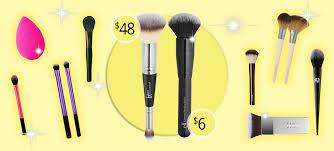dupes for por makeup brushes highend vs