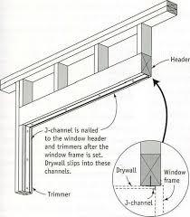 installing j channel around windows