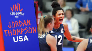 Jordan Thompson on what it means to play for the USA | VNL Stars |  Volleyball Nations League 2019