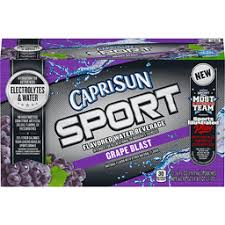 capri sun sport flavored water beverage g blast