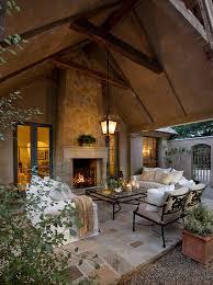 mediterranean patio design photos patio mediterranean with patio furniture outdoor fireplace covered patio