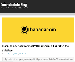 Banana Coin Price Chart Bananacoin Join Organic Token Generation Event