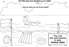 Small Picture Water Safety Coloring Pages Image Coloring Water Safety Coloring