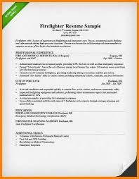 14 Firefighter Resume Examples Vereador Jamerson