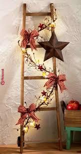 Skandi Und Retro Weihnachtssterne Aus Holz Effektvoll In