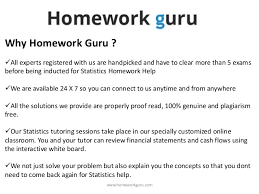 business statistics  49 why homework guru