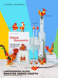 office warming party ideas. Office Warming Gift. Product Name: Glass Rooster Wine Charm House Gift Party Ideas