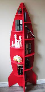 unusual furniture. unusual modern 6ft rocket shaped childrens bookcase shelving unit novelty furniture