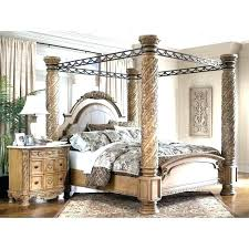 King Canopy Bed With Curtains Fabulous King Size Canopy Bedroom Sets ...