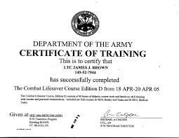 Ideas Of Army Drivers Training Certificate Template For Bat