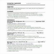 ... Resume format for Web Developer Best Of Resume format for Web Designer] Web  Developer Resume ...