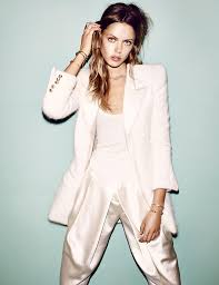 Frida Gustavsson for Vogue Germany December 2013 Ivory Pastel.