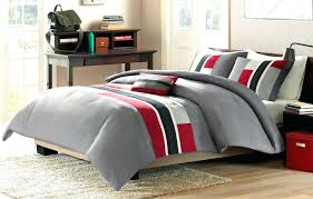 red and grey twin comforter black and red bed set and black bed set c and red and grey