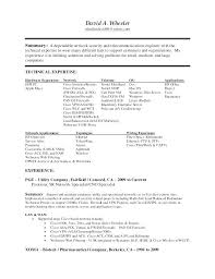 Resume Samples Resume Samples Resume Format For Telecom Job ...