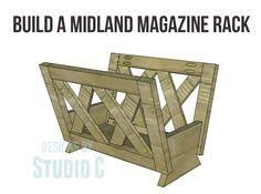 Midland Magazine Rack