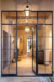 metal glass doors steel entry door by custom ironwork in place of french doors ideas for metal glass doors superb modern glass front
