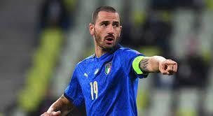 Leonardo Bonucci in campo contro la Turchia: ecco l'alfiere viterbese