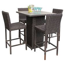 catchy high bistro table set outdoor with best 25 outdoor pub table ideas on home decor